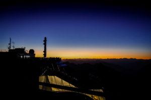 Zugspitze Sonnenaufgang Terrasse