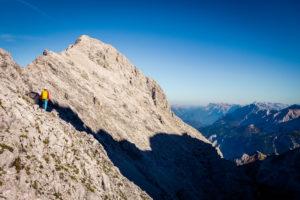 Die Alpspitze mit ihrem Südostgrat.