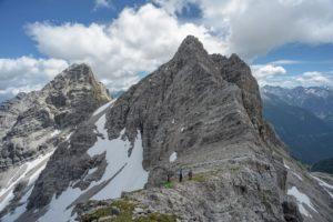 Bretterspitze Westgrat von Gliegergarkspitze gesehen