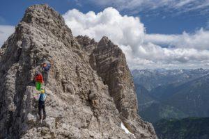 Abstieg Bretterspitze Westgrat