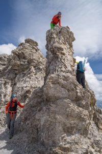 Bretterspitze Westgrat Lechtal Grat