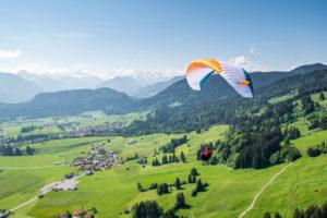 Gleitschirm Bolsterlang Advance Flugschule Rohrmeier Milz