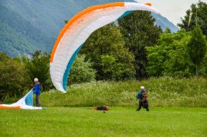 Landung Landeplatz Idrosee