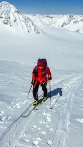 Normalweg Wildspitze Skitour