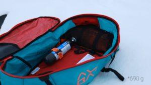 Viel Stauraum im Hauptfach vom Lawinenrucksack von Ortovox (Ascent 28 S Avabag)