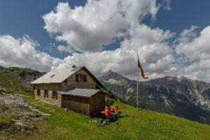 Kaufbeurer Haus Lechtal urige Hütte