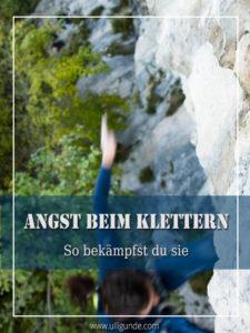 Angst Klettern bekämpfen