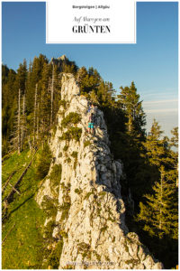 Stuhlwandgrat Grünten Allgäu Grat Bergsteigen Klettern Fels