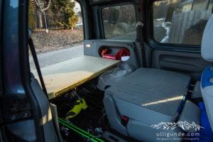 Anleitung für den VW Caddy Ausbau mit Bett