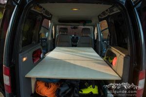 VW Caddy Bett Bauanleitung