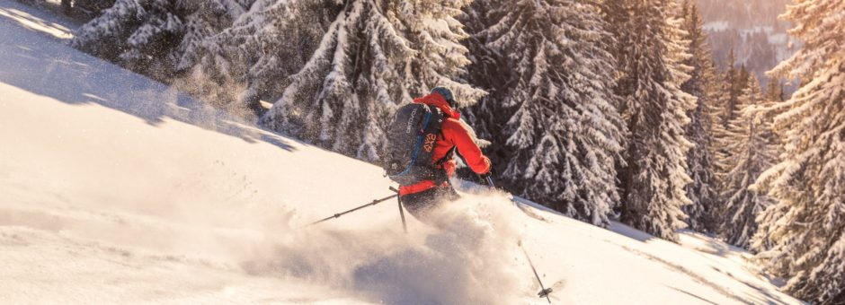 Skitour Buralpkopf: Powder pur